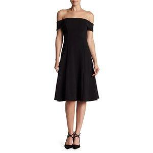 Soprano Off-The-Shoulder Midi Dress Sz M